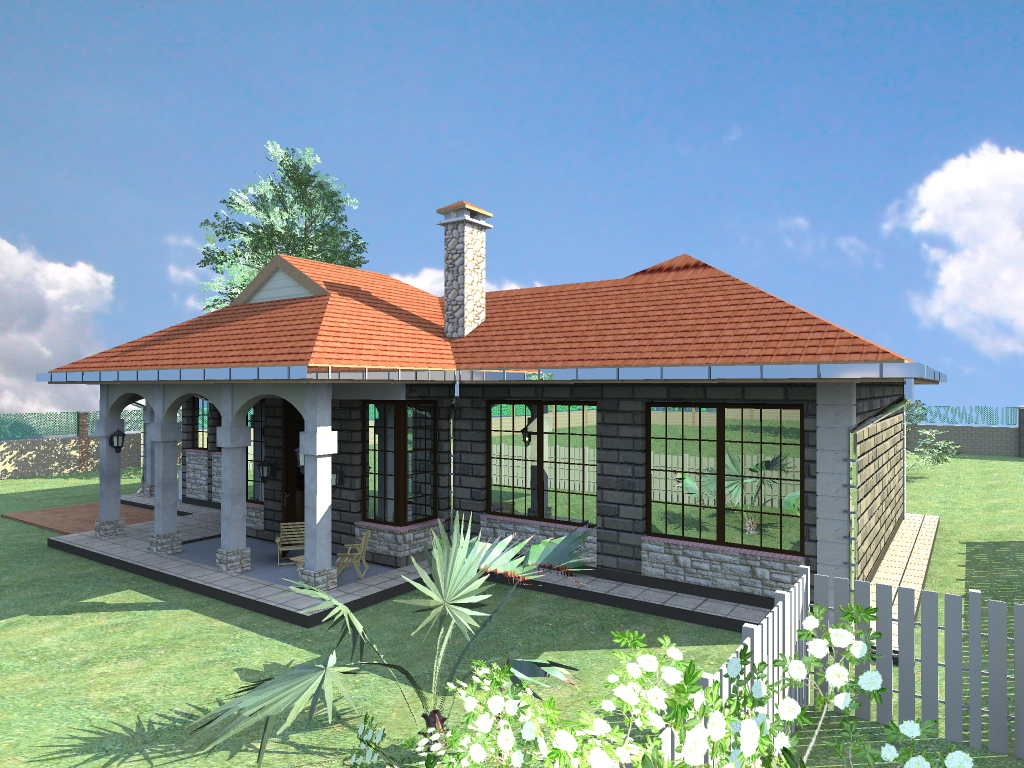 Kenya house a4architect for Roofing designs in kenya